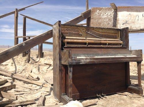 Δωρεάν στοκ φωτογραφιών με ανατριχιαστικός, έρημος, παραλία βομβάη, πιάνο