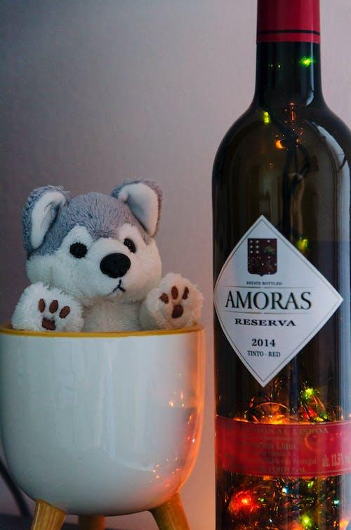 Free stock photo of bear, bottle, christmas