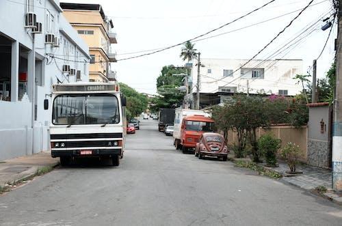 Free stock photo of antigo, bus, car