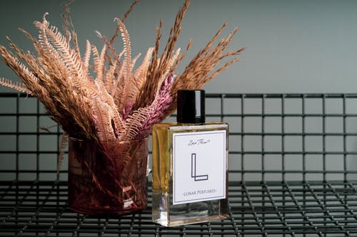 Close-Up Shot of an Expensive Perfume