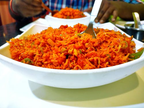 Free stock photo of fast food, food, india, rice