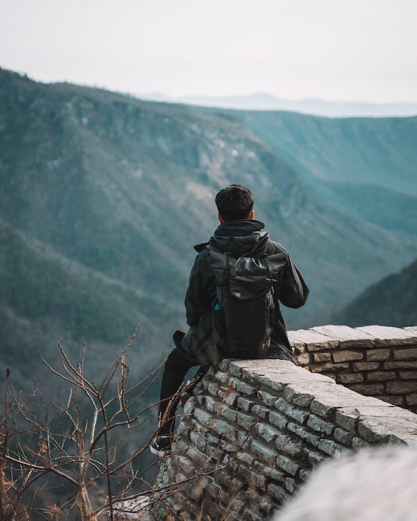 Безкоштовне стокове фото на тему «альпініст, блакитний хребет бульварі, відпочинок»