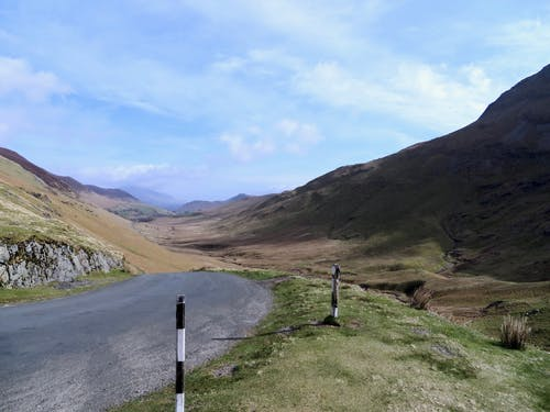 Free stock photo of English Lake District, landscape, road, valley