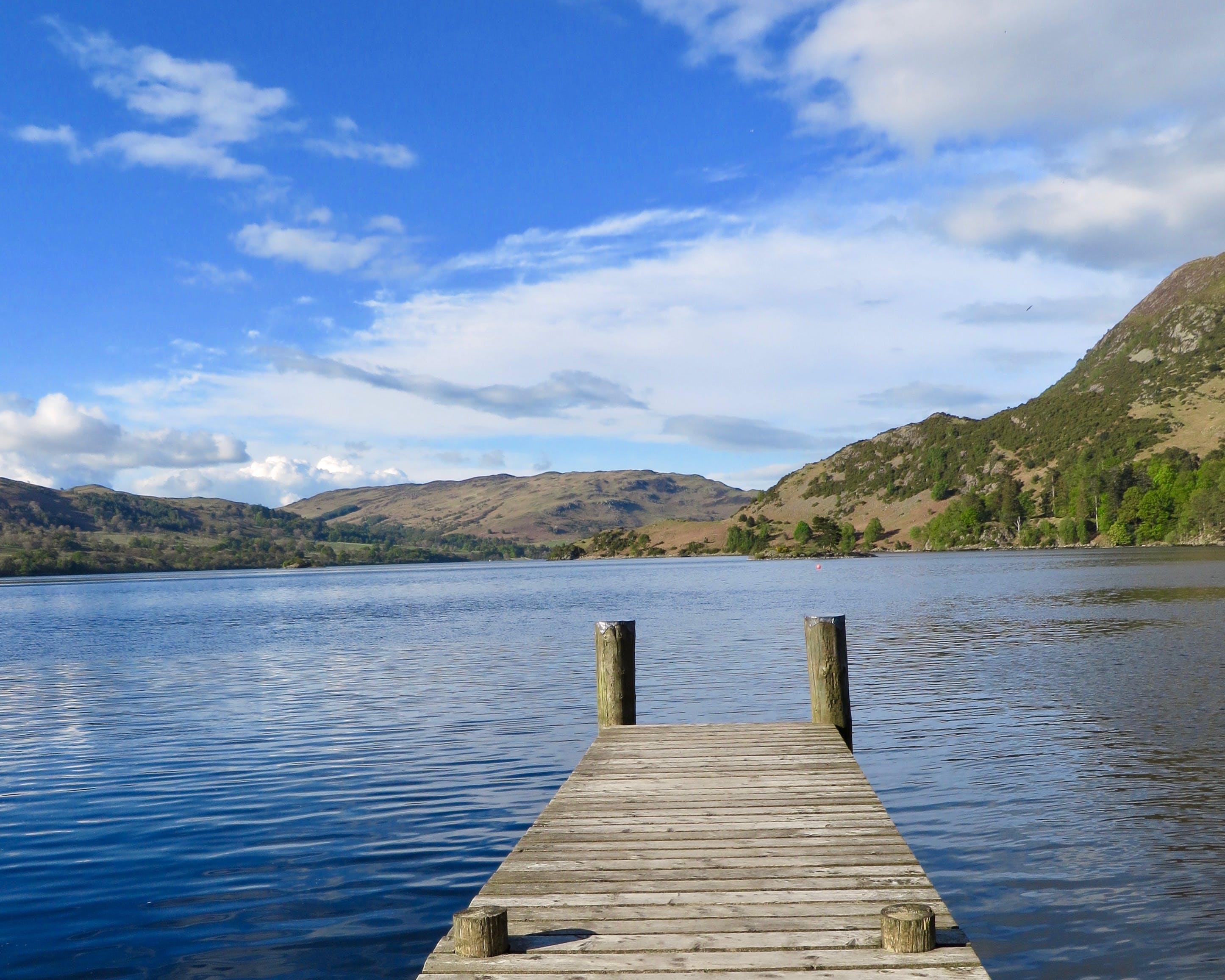 Gray Dock in Lake