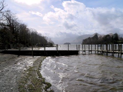 Fotos de stock gratuitas de distrito de los lagos ingleses, embarcadero, montañas