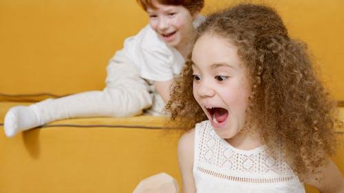 兒童, 叫喊, 可愛的 的 免费素材图片
