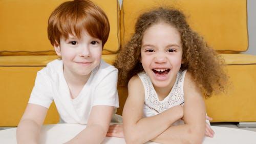 Fotos de stock gratuitas de adorable, feliz, fotografía de cerca