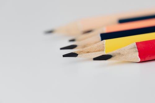 Close-Up Shot of Lead Pencils