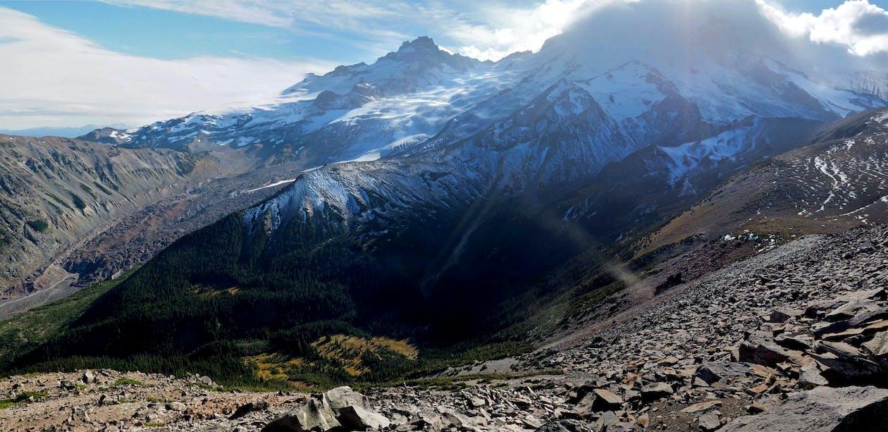 dağ, manzara, peyzaj içeren Ücretsiz stok fotoğraf