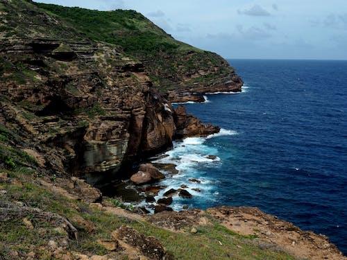 Gratis lagerfoto af bakke, bølger, Caribien, eventyr