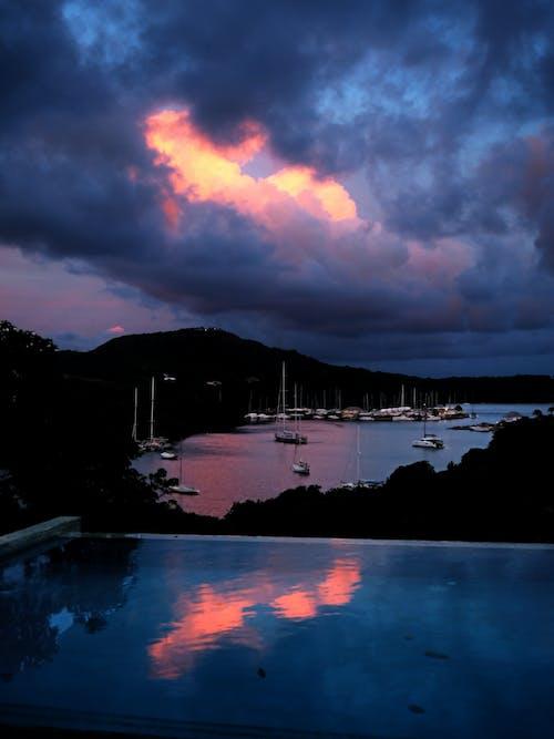 Gratis lagerfoto af både, bugt, Caribien, havn