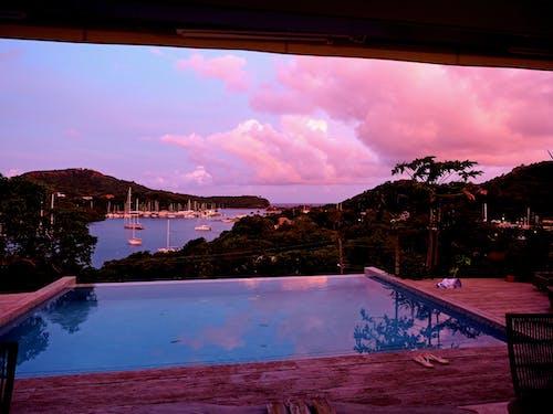 Gratis lagerfoto af bugt, Caribien, ejerlejlighed, havn
