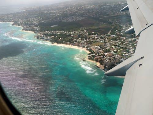Gratis lagerfoto af bølger, Caribien, ferie, fly