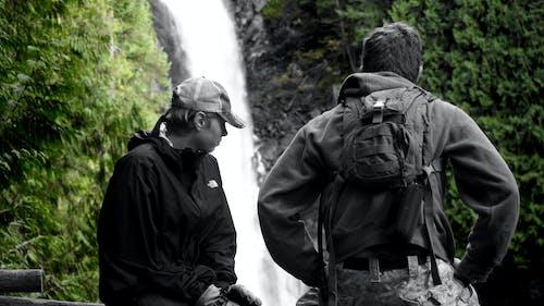 Gratis lagerfoto af bnw, drenge, natur, profil