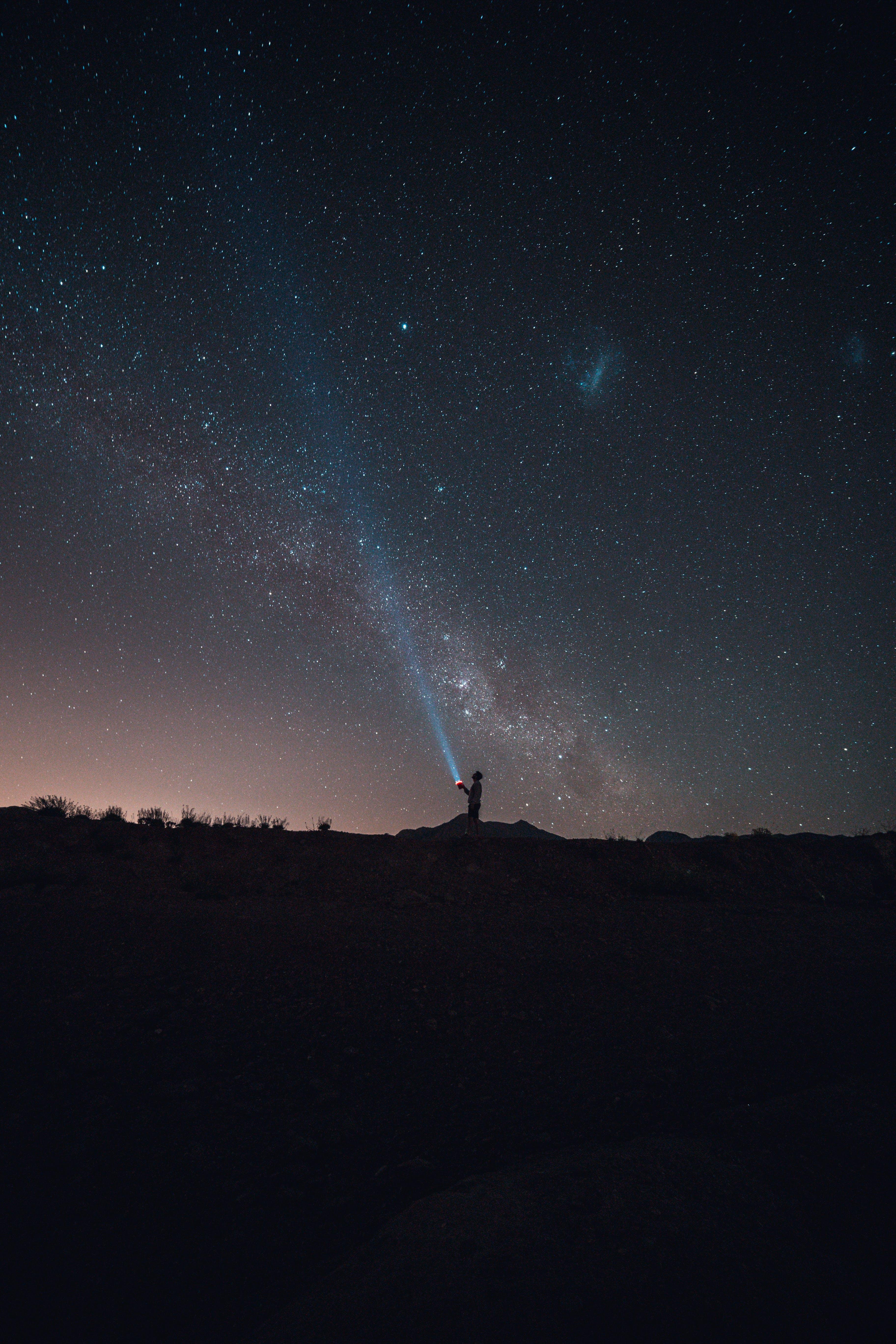 Free stock photo of #sky #longexposure #milkyway #stars #night #dark
