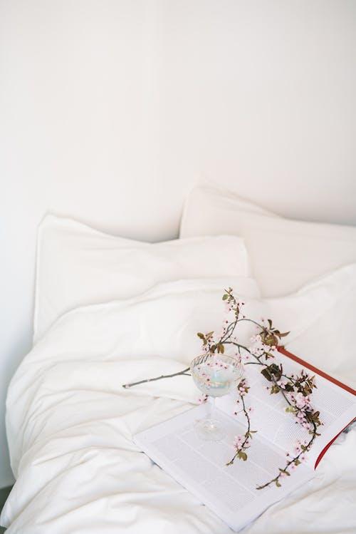 Бесплатное стоковое фото с белое постельное белье, белье, в помещении