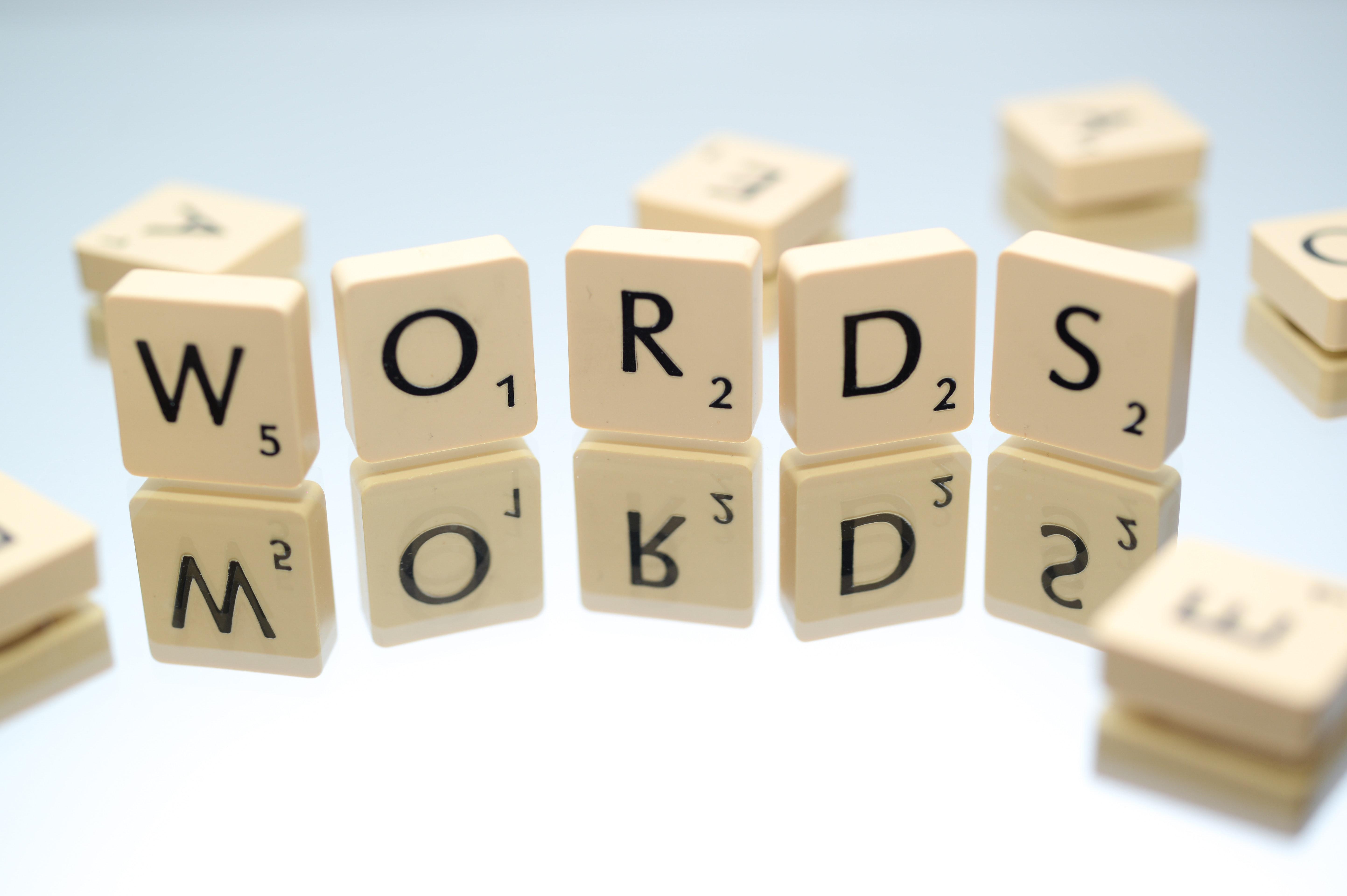 Words Text Scrabble Blocks · Free Stock Photo