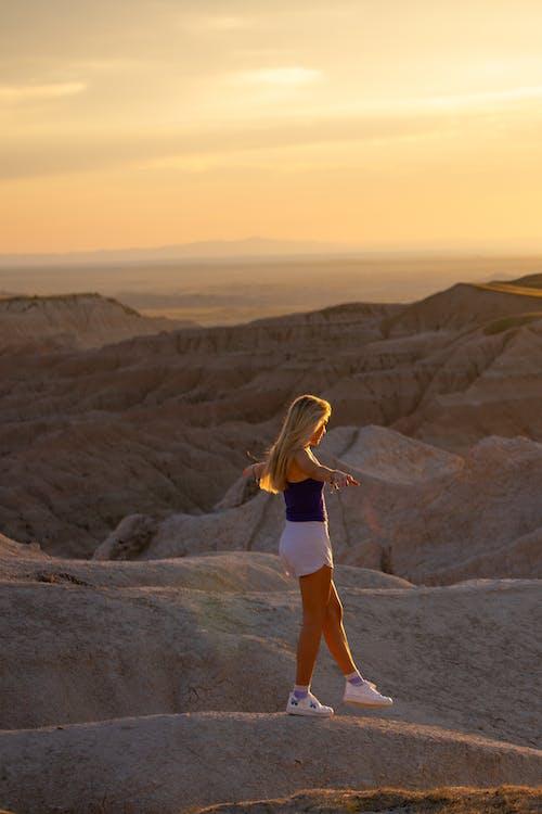Free stock photo of adult, adventure, arid