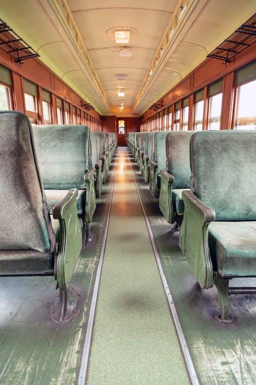 Free stock photo of empty, oldtimer, train