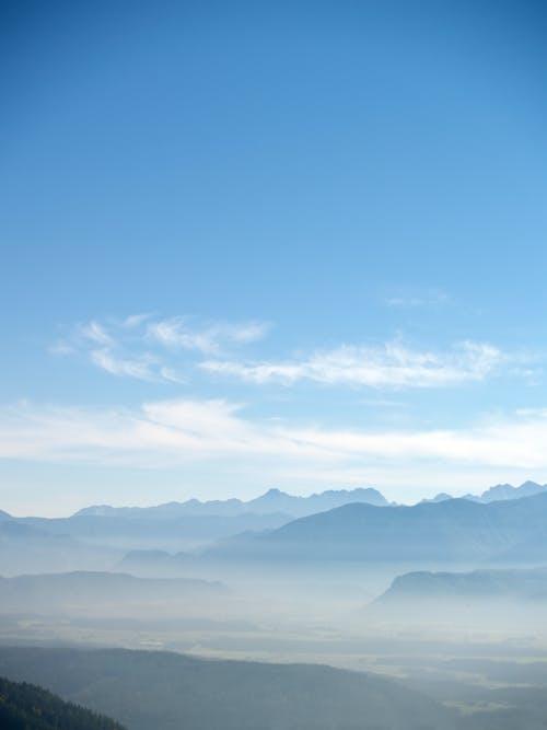 경치, 골짜기, 녹색, 블루의 무료 스톡 사진