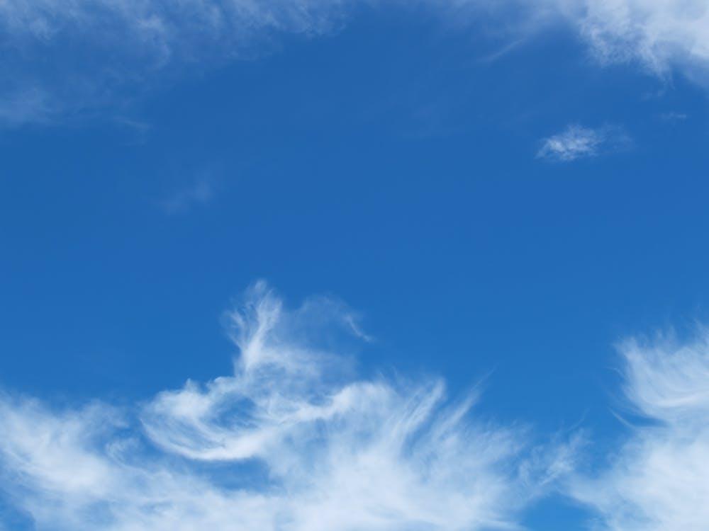 alb, albastru, atmosferă