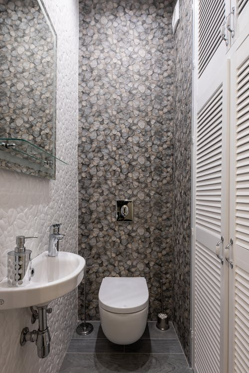 Gratis stockfoto met architectuur, bad, badkamer