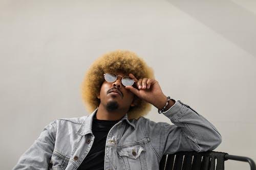 Základová fotografie zdarma na téma afro, blond, chladný
