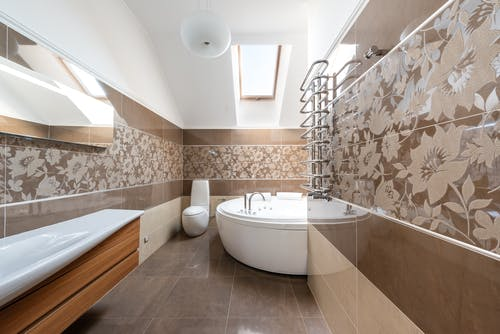 Kostenloses Stock Foto zu badewanne, badezimmer, dekor
