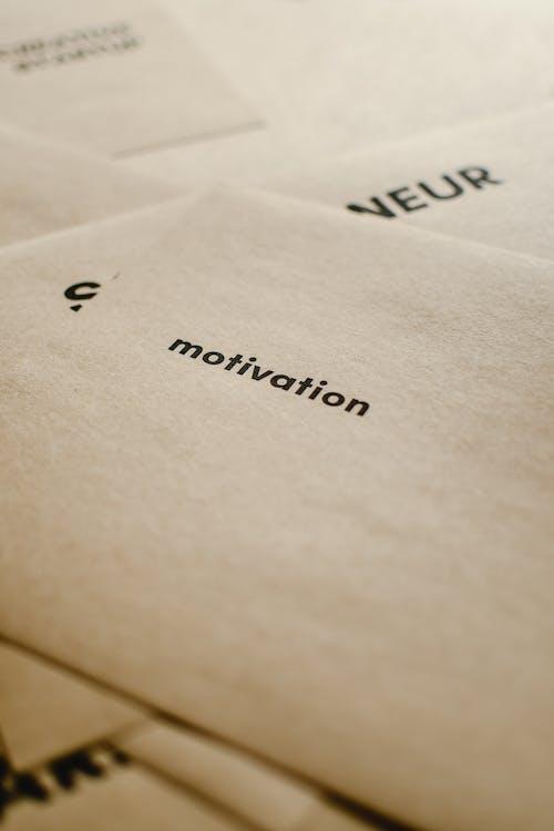 Kostenloses Stock Foto zu braunes papier, estland, motivation