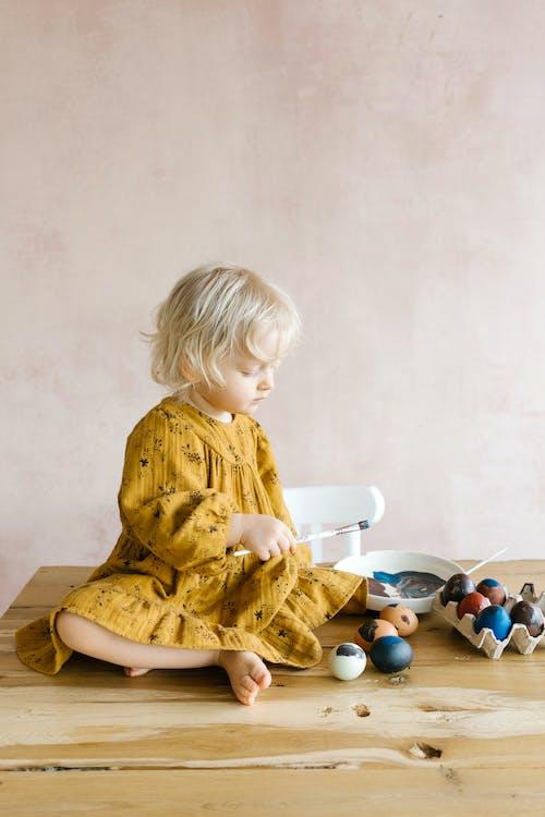 上色, 兒童, 小女孩 的 免费素材图片