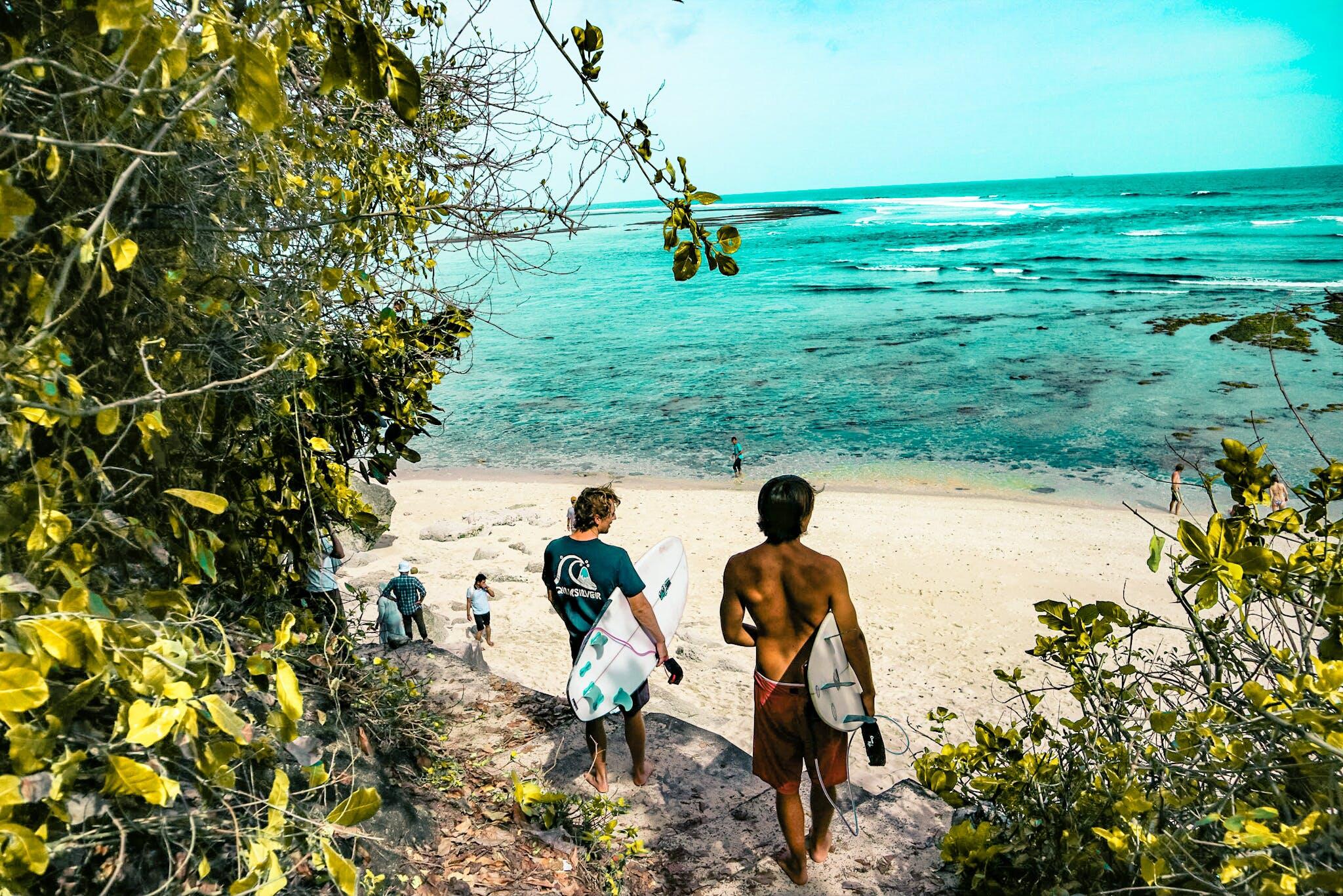 Kostenloses Stock Foto zu meer, sonnig, strand, ferien