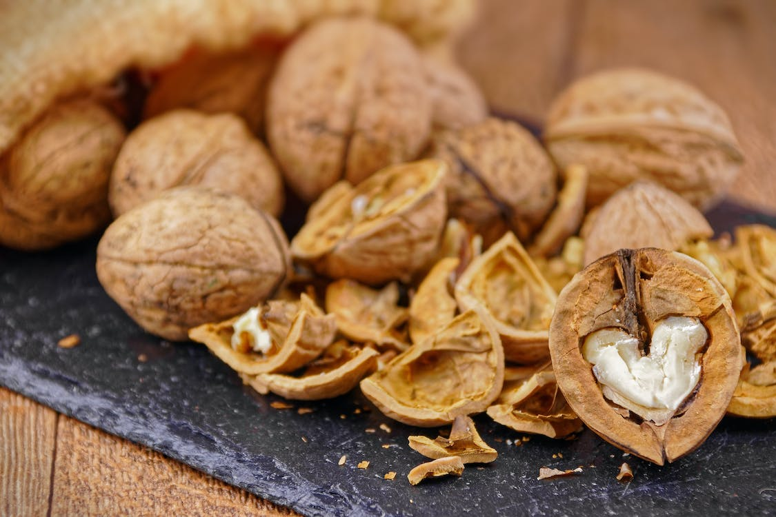 Free stock photo of nuts, shell, walnuts