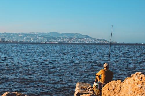 Ilmainen kuvapankkikuva tunnisteilla henkilö, kalastaja, kalastus, lomalla