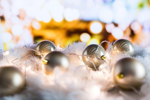 Immagine gratuita di arredamento, celebrazione, decorazioni natalizie, luci