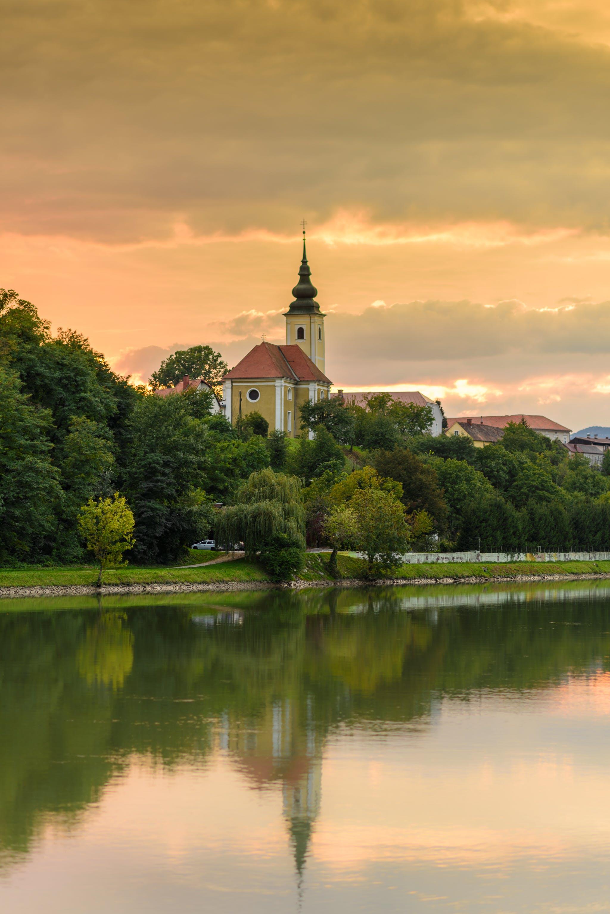 スロベニア, マリボル, 夏, 教会の無料の写真素材