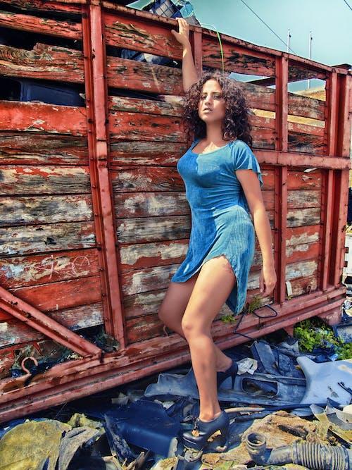 HDR, 갈색 머리, 드레스의 무료 스톡 사진