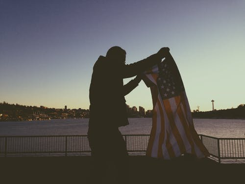 Kostenloses Stock Foto zu 4. juli, amerika, amerikanische flagge, gedenktag