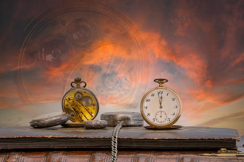 Free stock photo of old, still life, watch