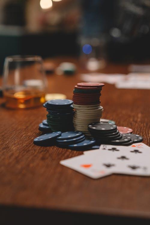 Free stock photo of ace, blackjack, blur