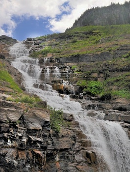 Free stock photo of water, stream, waterfall, cascading water