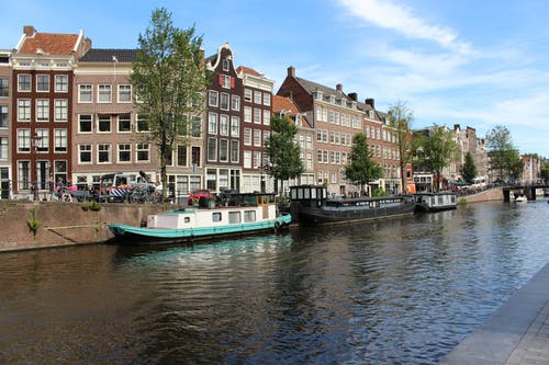 Free stock photo of abroad, amsterdam, amsterdam city, blue