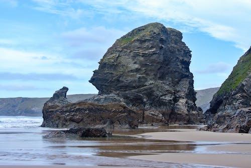 Free stock photo of beach, blue sky, cliff coast, cliffs