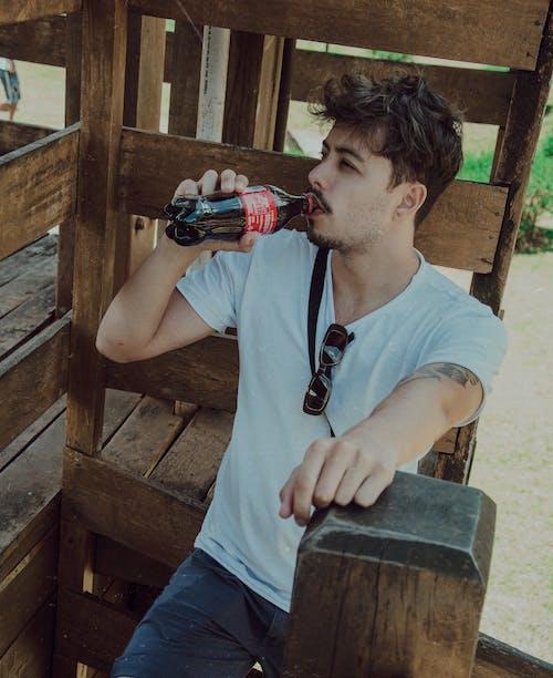 Free stock photo of brazil, brazilian man, coca cola