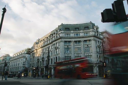交通, 倫敦, 城市, 模糊 的 免费素材照片