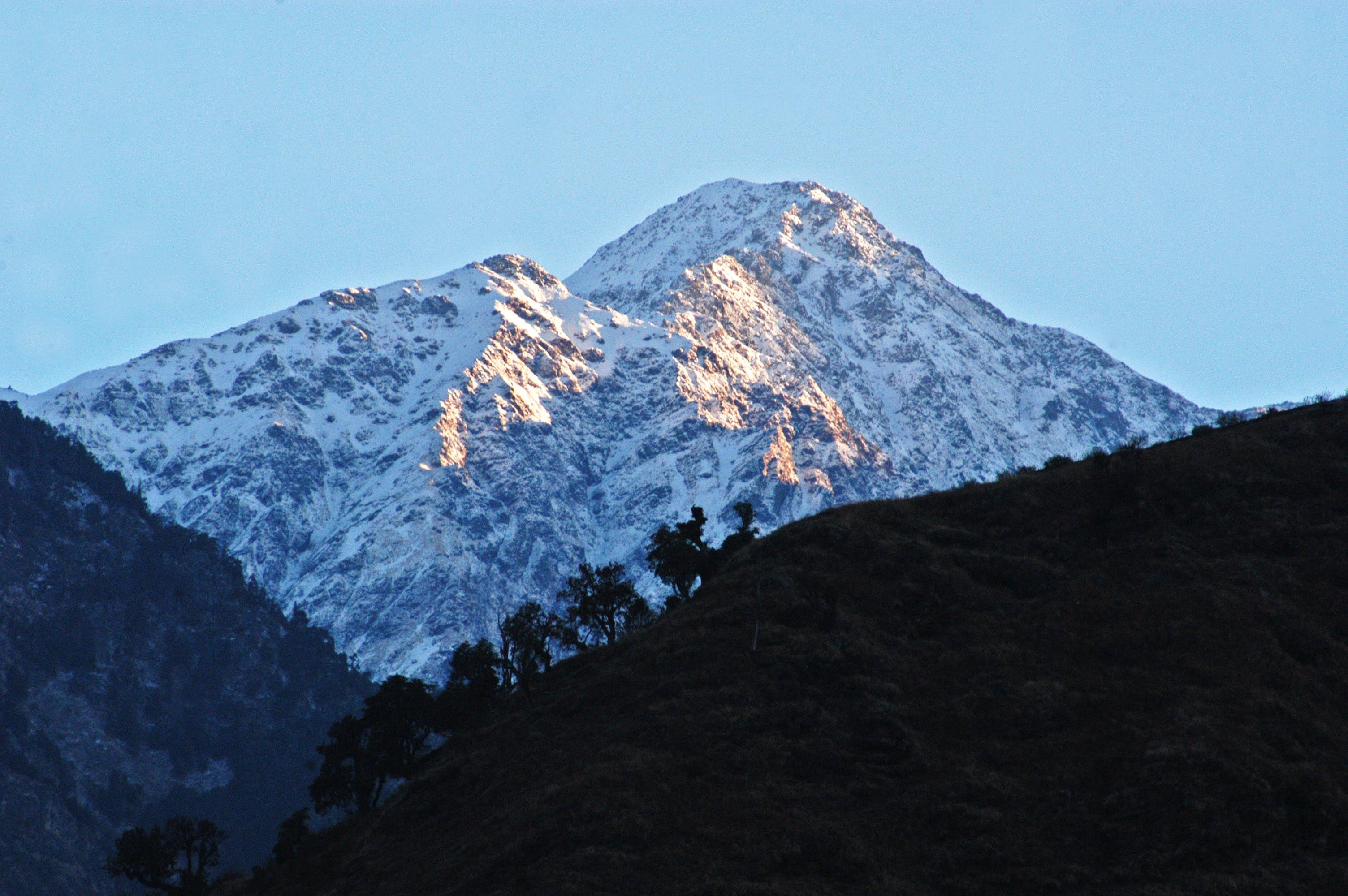 Free stock photo of himalayas, india, mountain, nature photography