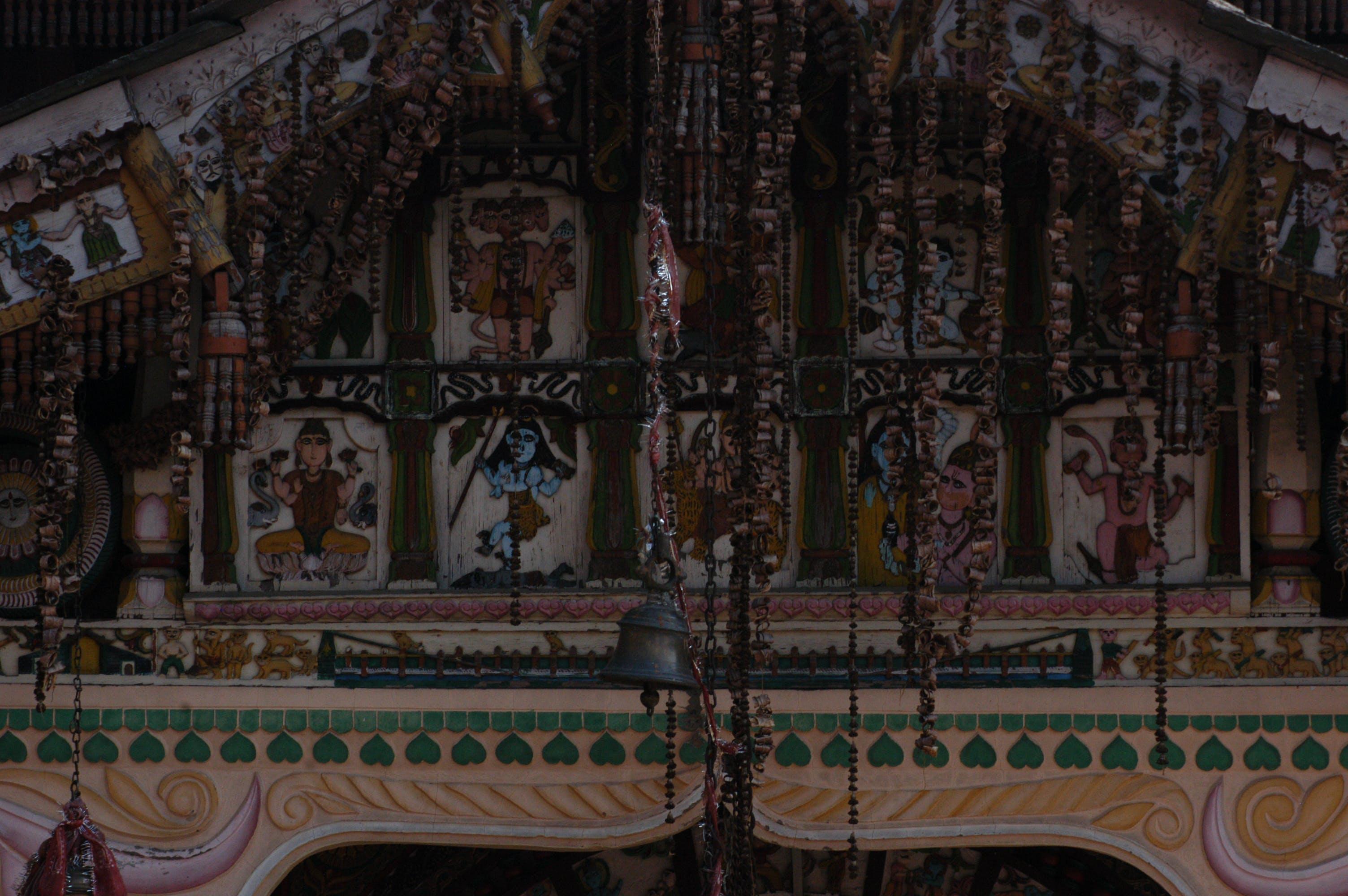 Free stock photo of ancient, architectural design, hanol, himalayas