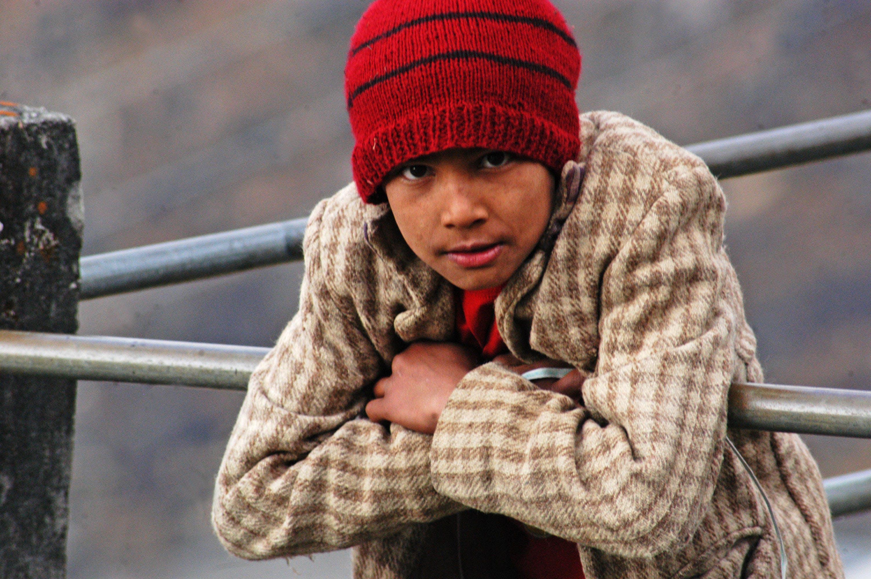Free stock photo of boy, himalayas, india, innocent