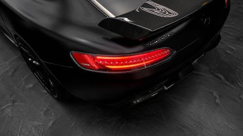 Black and Red Porsche 911