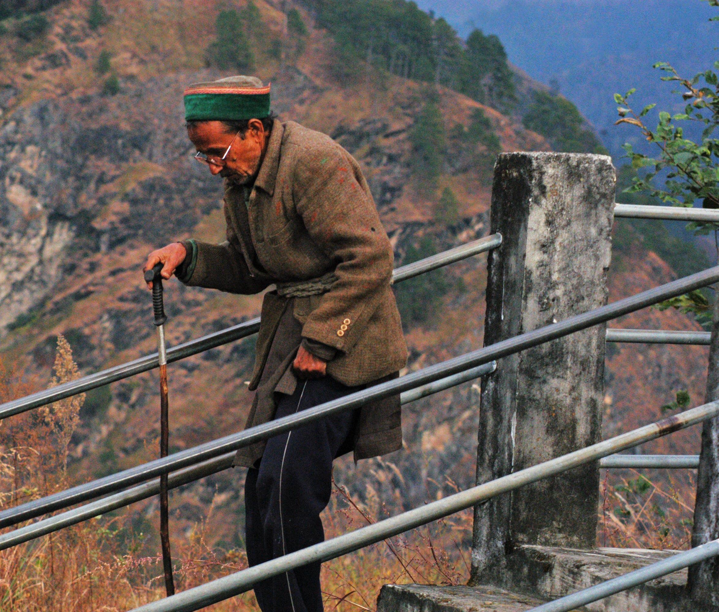 Kostenloses Stock Foto zu abenteuer, action, alt, berg