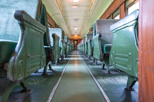 Free stock photo of green, old fashioned, train